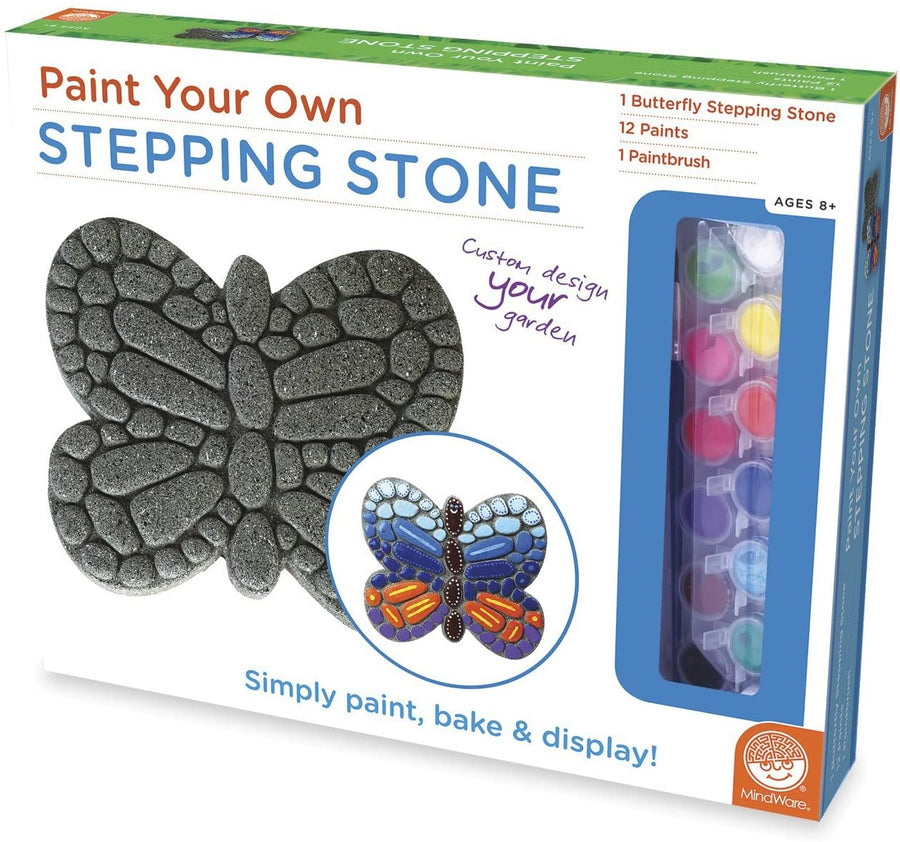 Paint Your Own Stepping Stone Butterfly Craft Kit