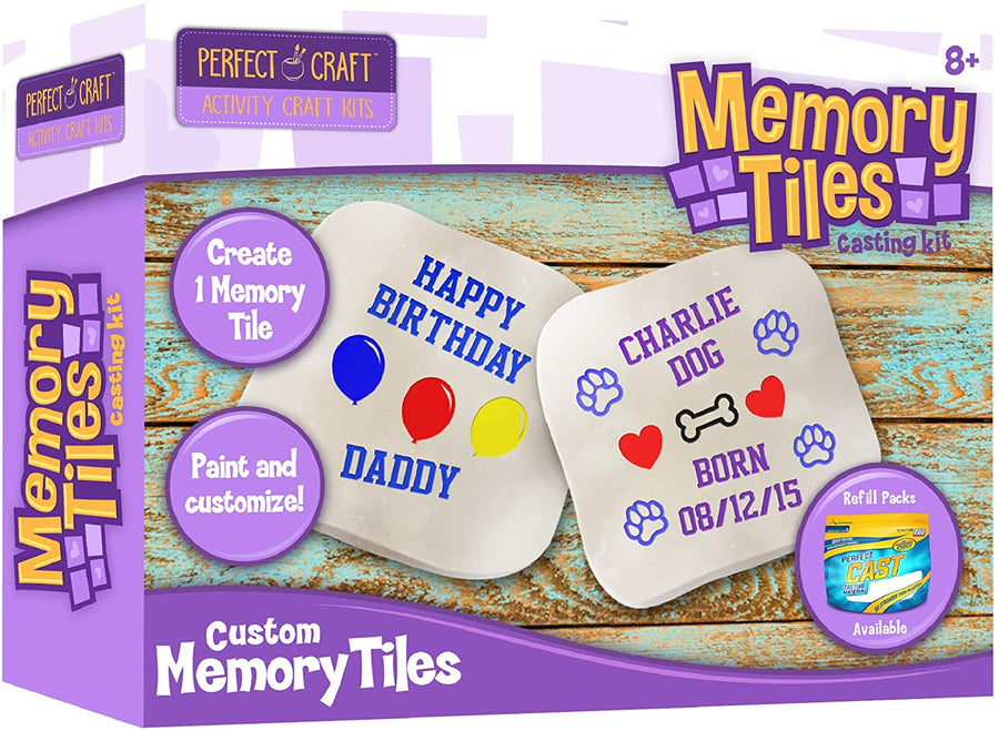 Memory Tiles Craft Kit