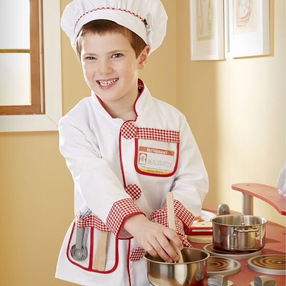 M&D Chef Role Play Costume Set