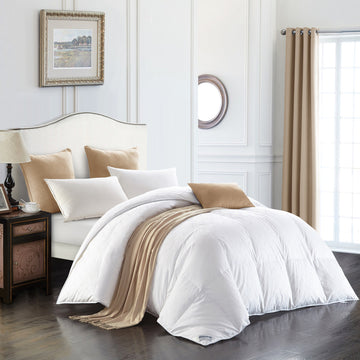 Elite 4-Season 800+ Loft Euro White Goose Down Duvet
