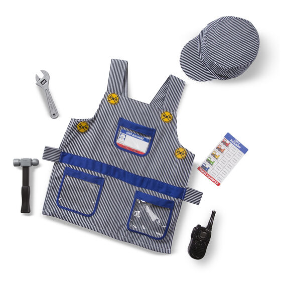 M&D Train Engineer Role Play Costume Set