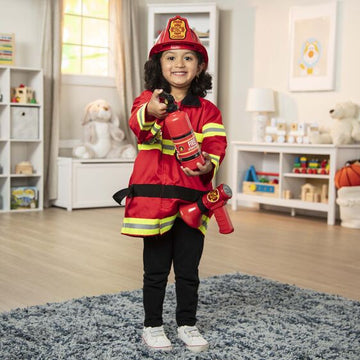 M&D Fire Chief Role Play Costume Set