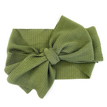 Baby Wisp Lana Large Bow Headband - Extra Wide Headwrap