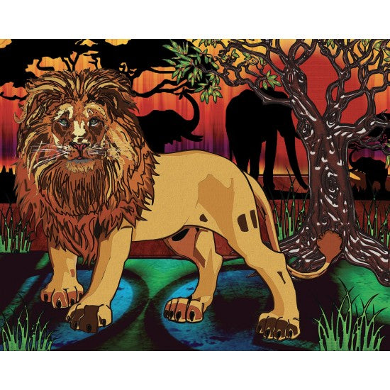 JaCaRou Diamond Painting - Lion