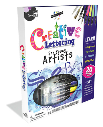Creative Lettering Craft Kit