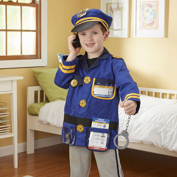 M&D Police Officer Role Play Costume Set