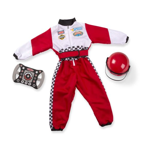 M&D Race Car Driver Role Play Costume Set