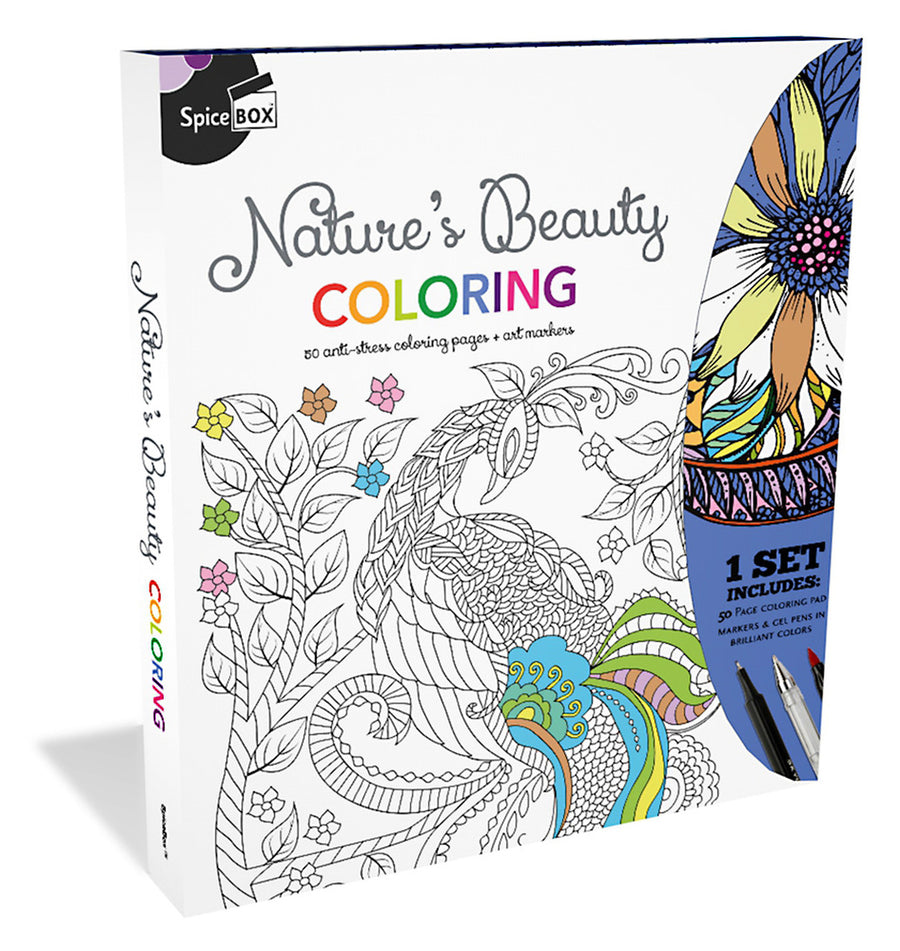 Nature's Beauty Coloring Kit