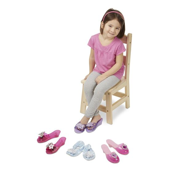 M&D Role Play Collection - Step In Style! Dress-Up Shoes