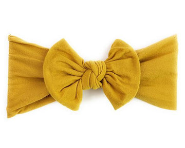 Infant Headwrap Nylon Bow Headband