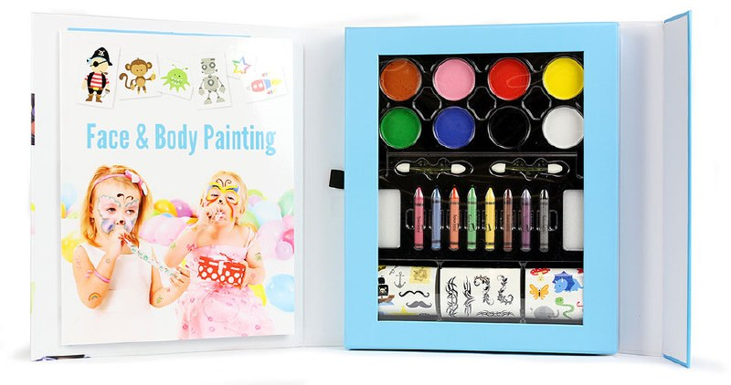 Facepainting and Temporary Tattoos Craft Kit