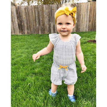 Baby Wisp Infant Headwrap Nylon Bow Headband