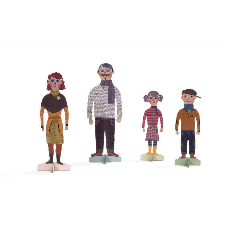 Paper Family Craft Kit