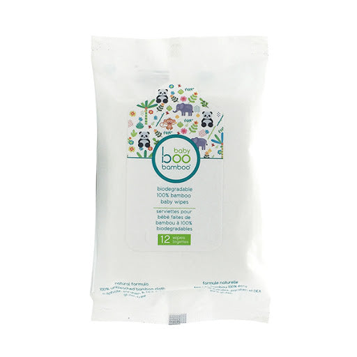 Baby Boo Bamboo Biodegradable 100% Bamboo Baby Wipes