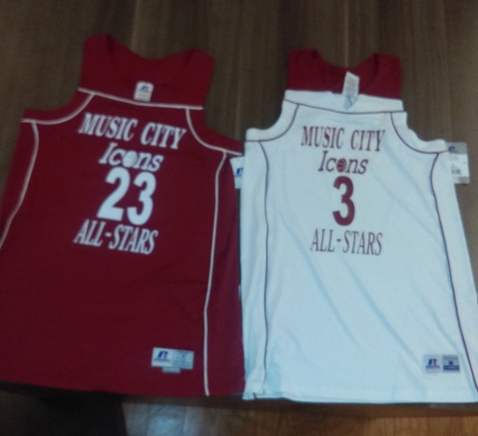 Music City Icons Limited Edition Basketball Jersey
