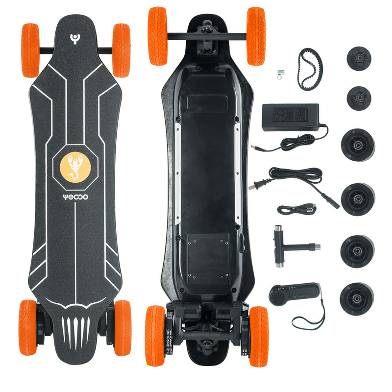 Yecoo GTS (2-in-1) Electric Skateboard