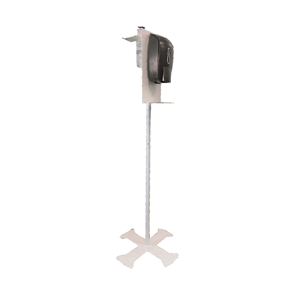 Temporary Bed Hand Sanitizer Stand Stainless Steel