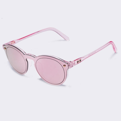 Translucent Oval Sunglasses