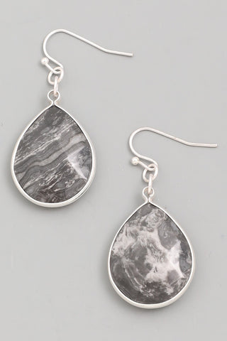 Earrings- Grey