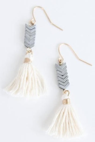 Earrings- Silver