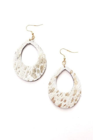 Earrings- White