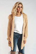 Load image into Gallery viewer, Casual Cardigan- Mustard