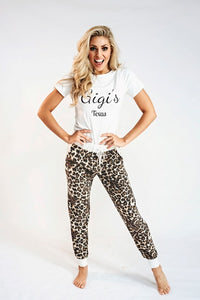 Lounge Pants- Leopard