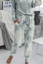 Load image into Gallery viewer, Tie Dye Joggers- Grey
