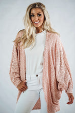 Load image into Gallery viewer, Batwing Kimono Cardigan- Mauve