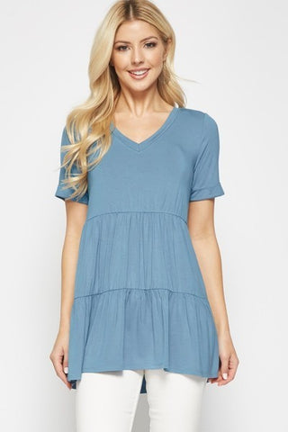 Tunic Top- Blue