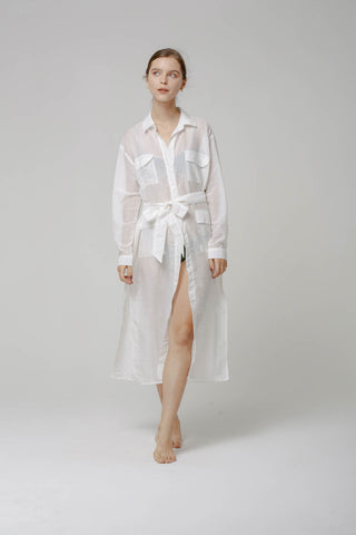 EUNOIA SHIRT DRESS