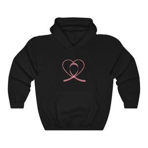 Breast Cancer Awareness Hoodie Soft Pink Design