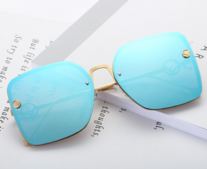 Rimless Square Sunglasses - UnequelyUs