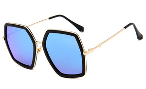 Oversized Retro Sunglasses - UnequelyUs