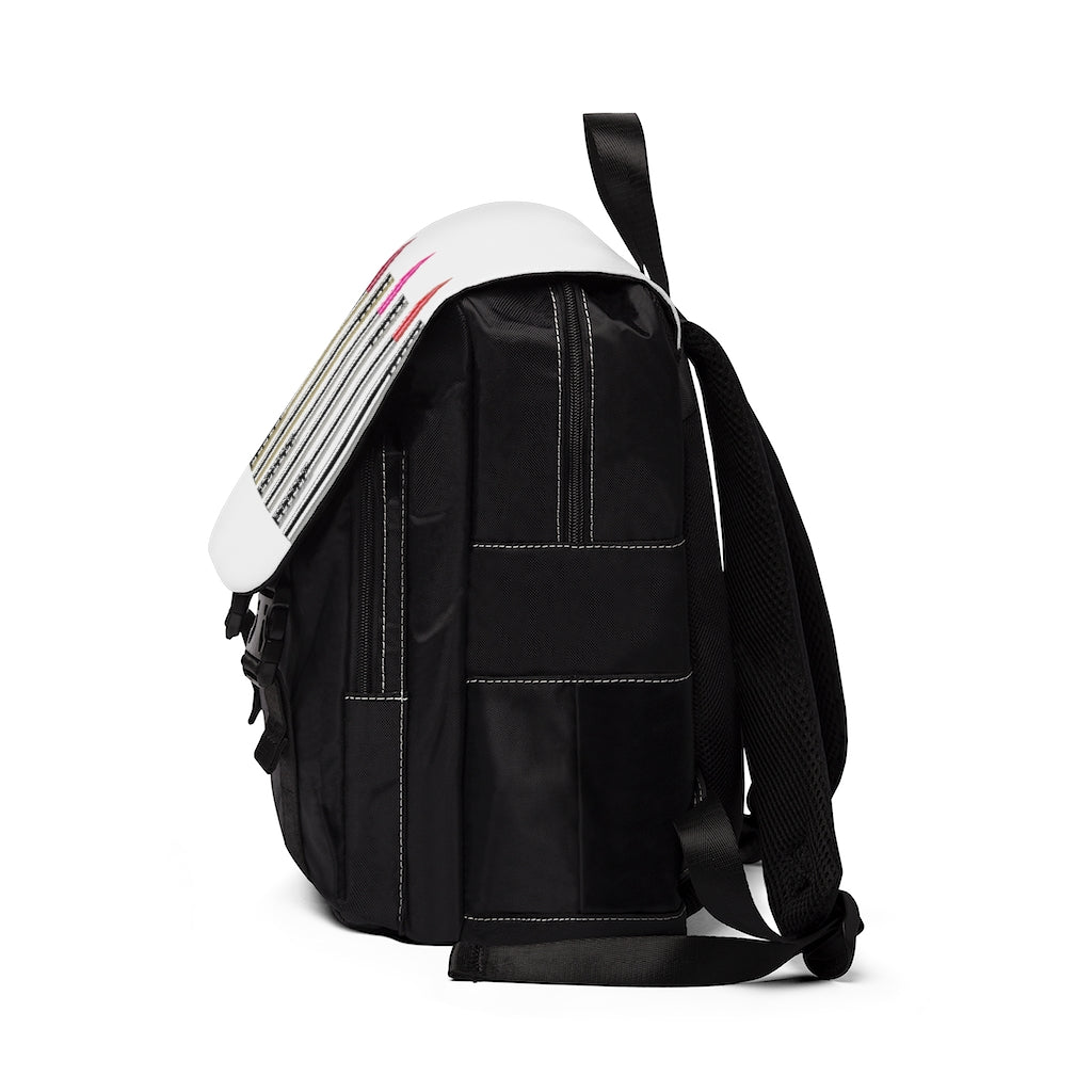 Lipstick Shades Casual Shoulder Backpack - UnequelyUs