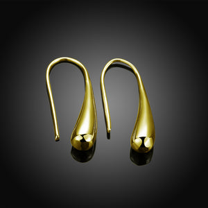 Classic Teardrop Waterhook Drop  Earring