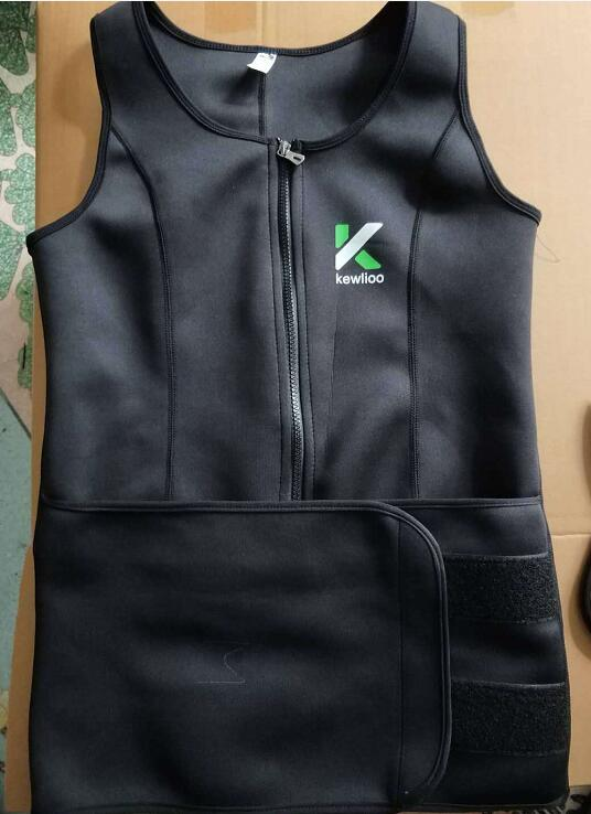 THE KEWLIOO SAUNA WEIGHT TRAINER VEST FOR WOMEN