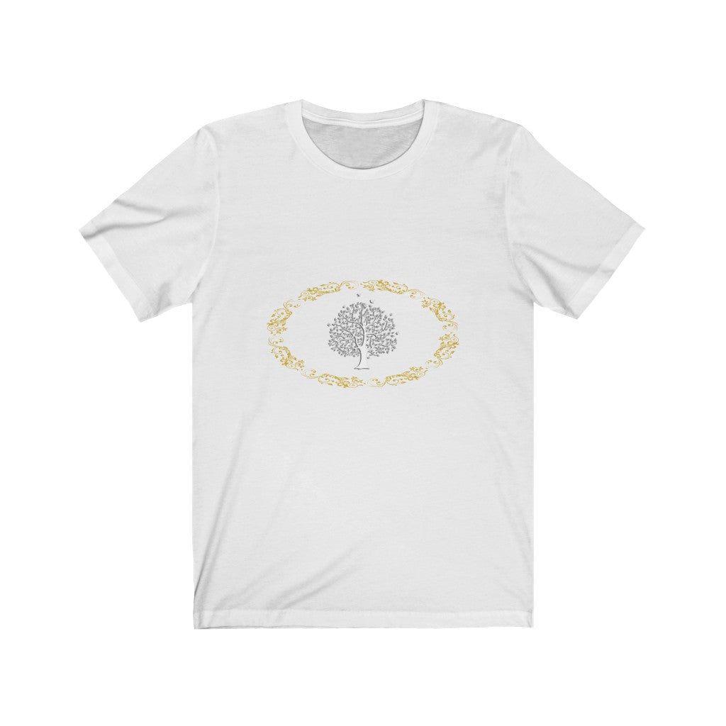 Tree of Life Gold Tee
