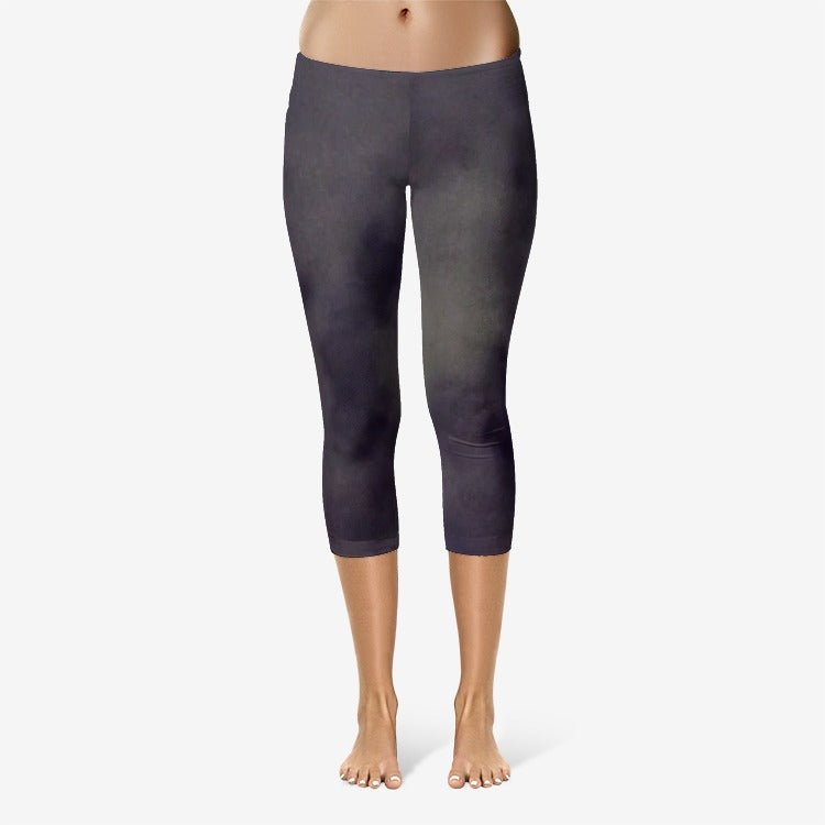 Moonlit Sky Capri Leggings - UnequelyUs