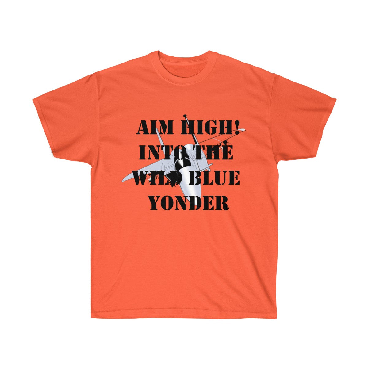 Aim High! Military Recognition Tee - Simple and Casual - UnequelyUs