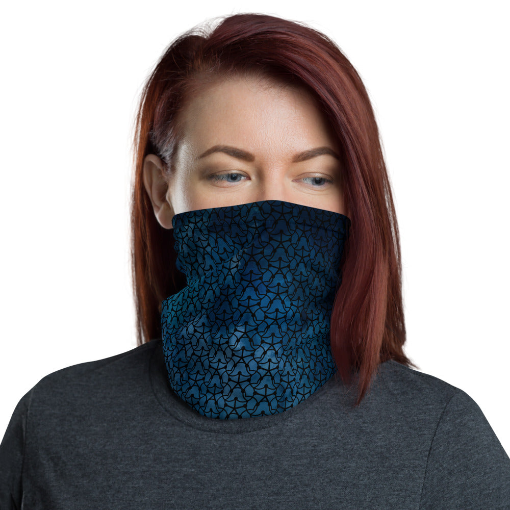Midnight Blue Neck Gaiter