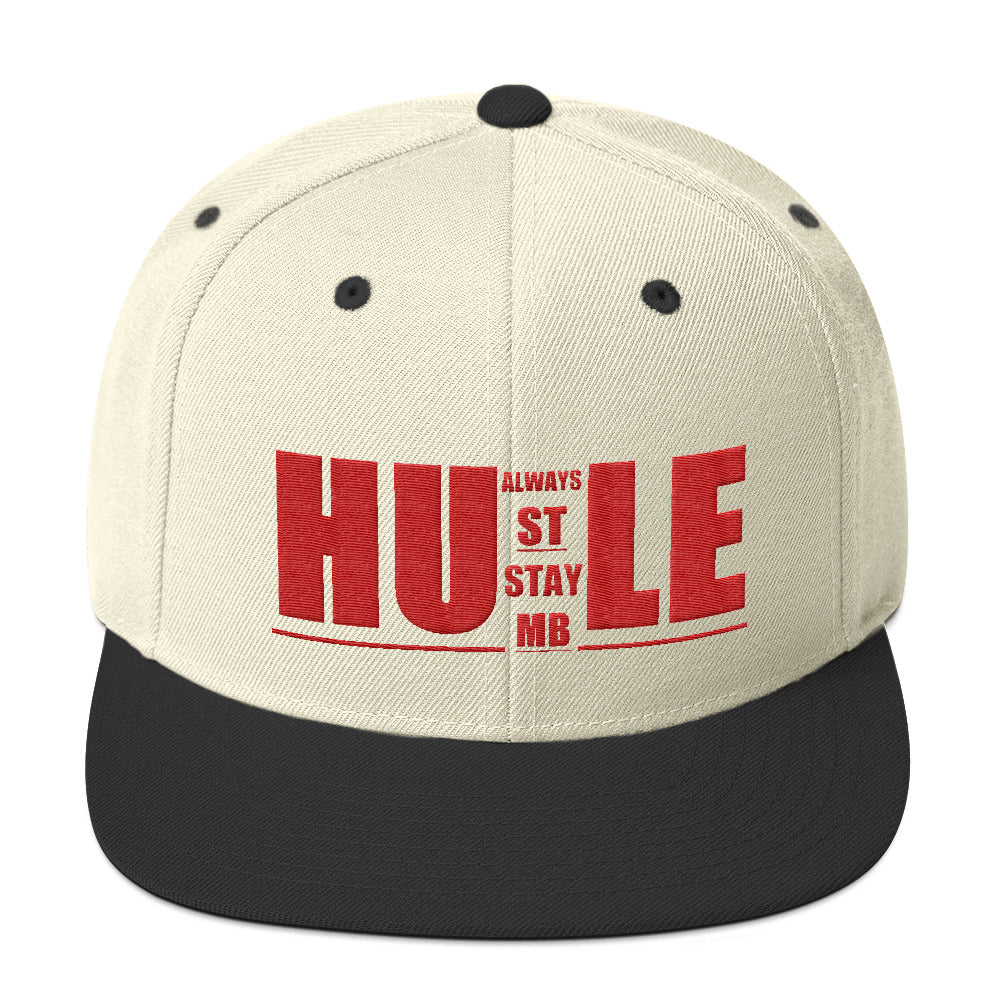 Always Hustle, Stay Humble Snapback - UnequelyUs