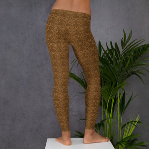 Flower Pattern Leggings - UnequelyUs