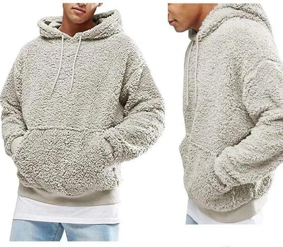 Men's Warm Pullover Fleece Hoodie - UnequelyUs