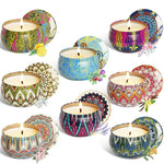 8pcs Aromatherapy Scented Candles - UnequelyUs