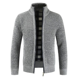 Zip-Front Cardigan Sweater - UnequelyUs