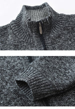 Zip-Front Cardigan Sweater