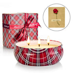 Smokeless Rose Scented Candle - UnequelyUs
