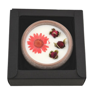 Aromatherapy Flower Scented Candle - UnequelyUs