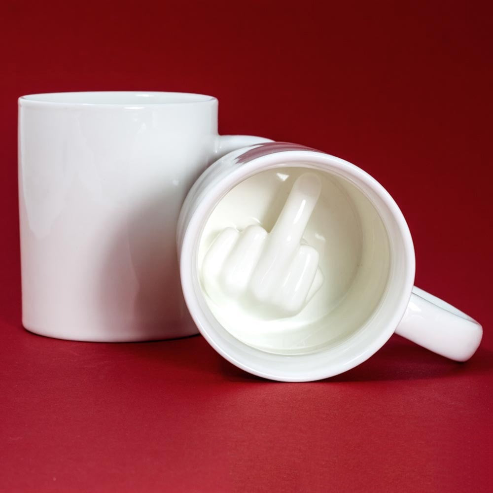 Middle Finger Novelty Mug - UnequelyUs